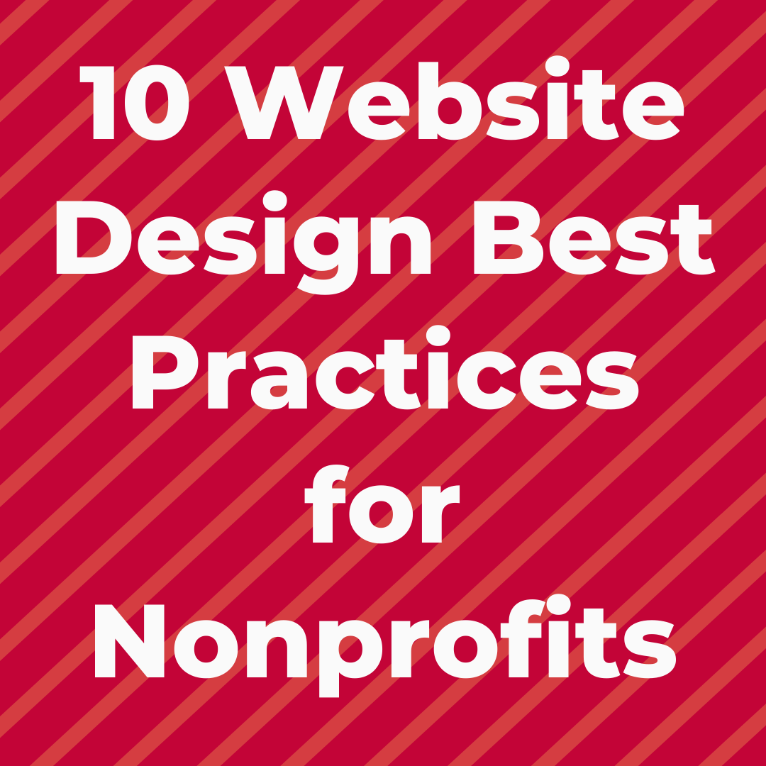 10 Website Design Best Practices For Nonprofits In 2020 Nonprofit Website Social Network Icons