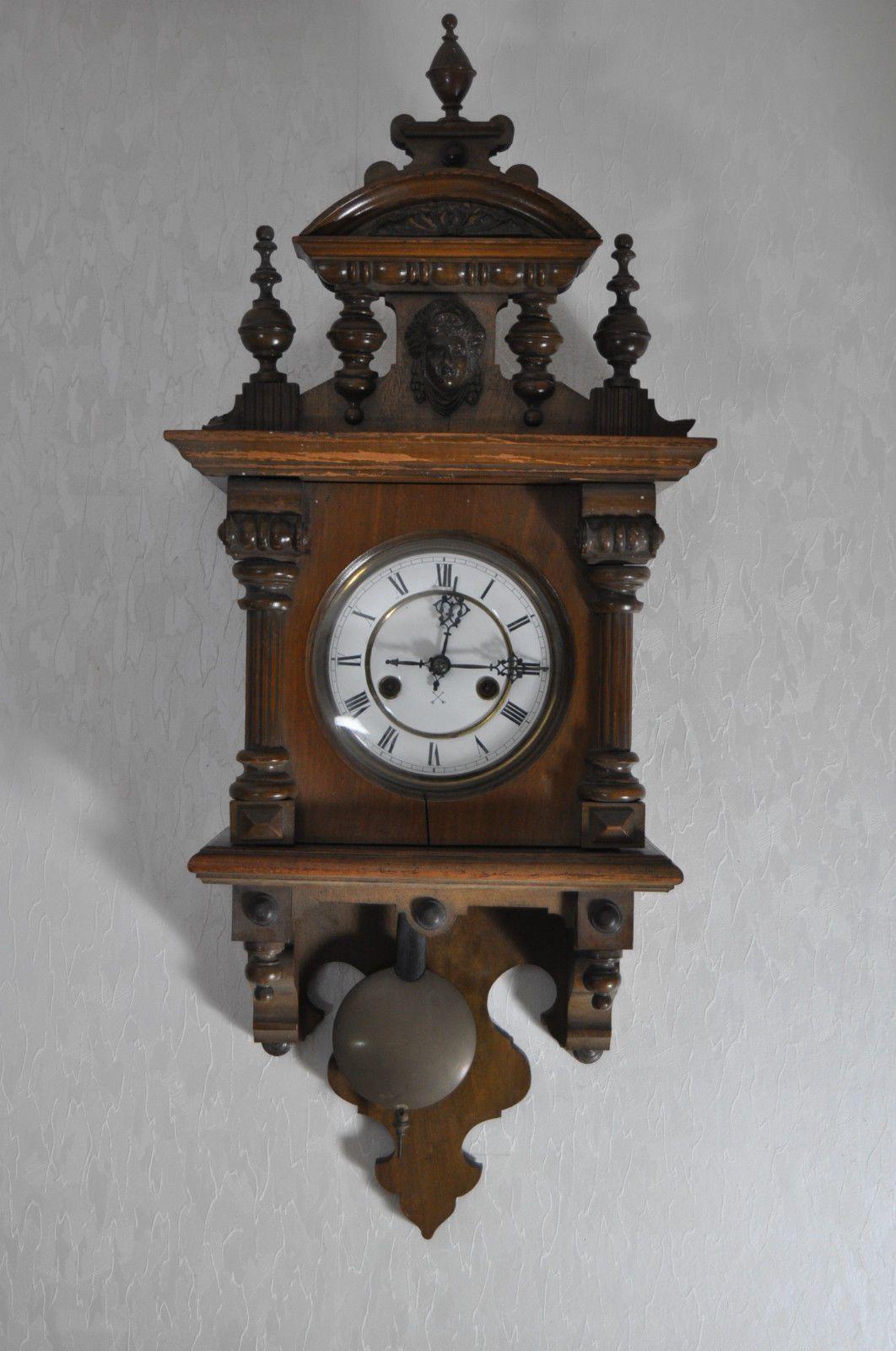 Wanduhr Pendeluhr Regulator Gründerzeit Historismus Kreuzpfeil Antik Ebay Pendeluhr Wanduhr Antike Uhren