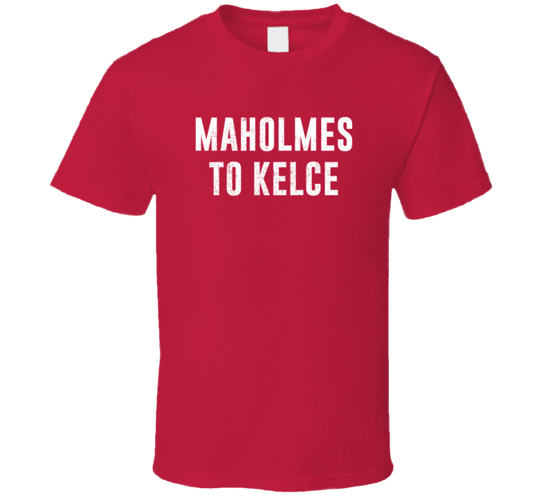 Pat Maholmes To Travis Kelce Kansas City Qb Wr Football