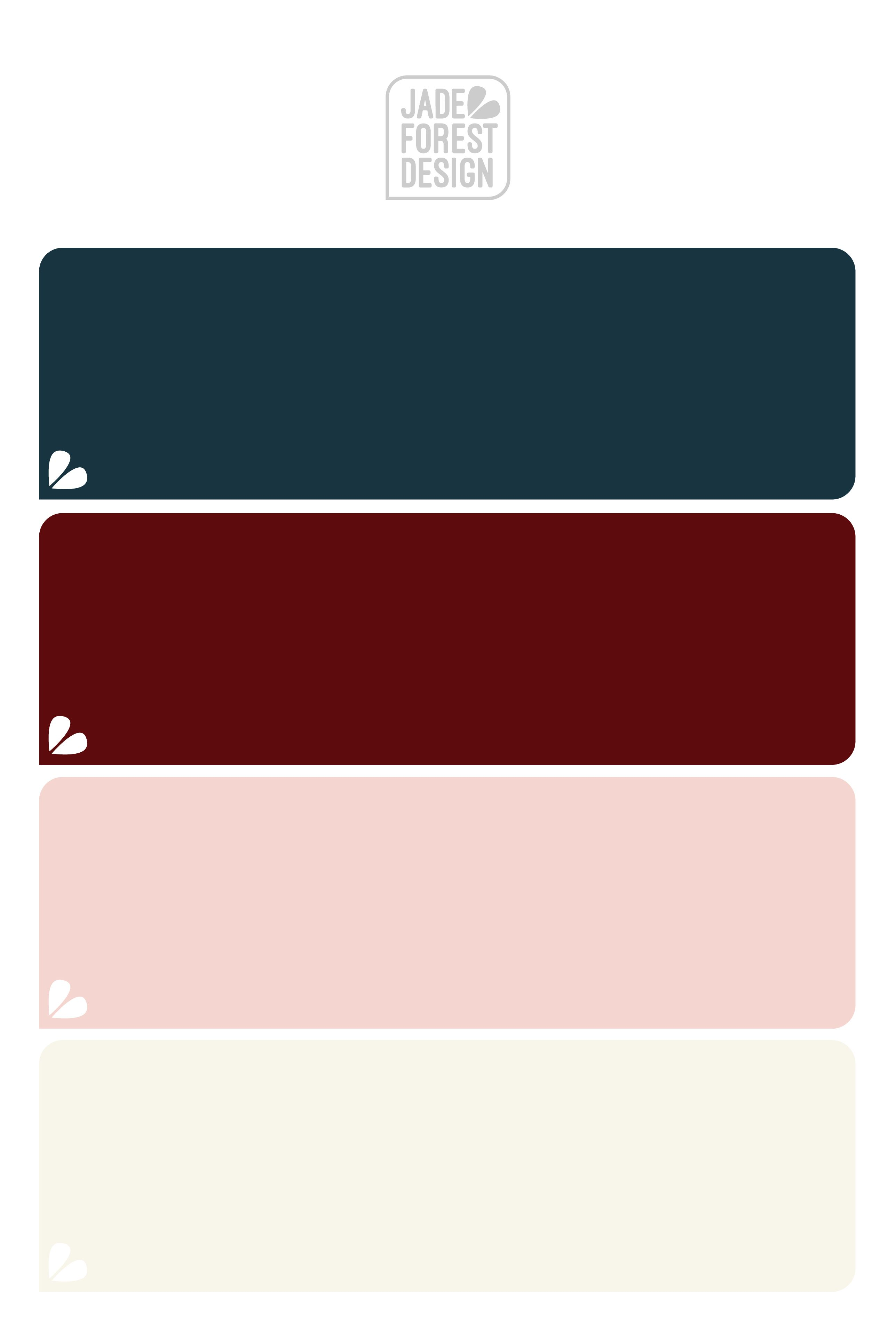 Burgundy Navy Blush Cream Color Palette Burgundy Bedroom Bedroom Color Schemes Color Palette Pink