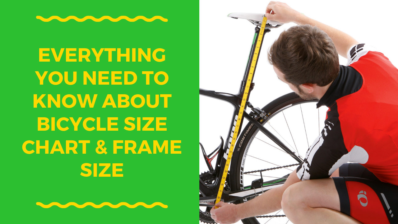 Bike Size Chart Bike Frame Frame Sizes How To Know