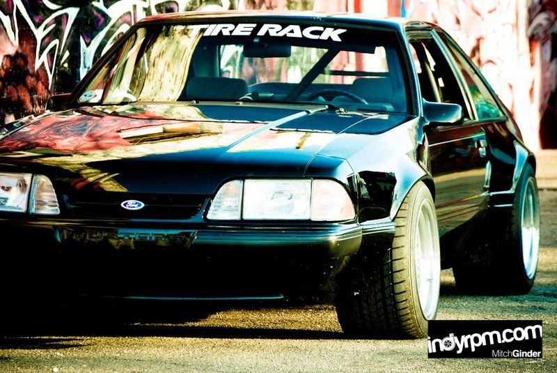 Wide Box Fox Body Ford Mustang post 1987 Muscle cars