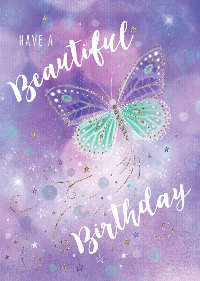 Claire Mcelfatrick Pretty Birthday Butterfly Happy Birthday