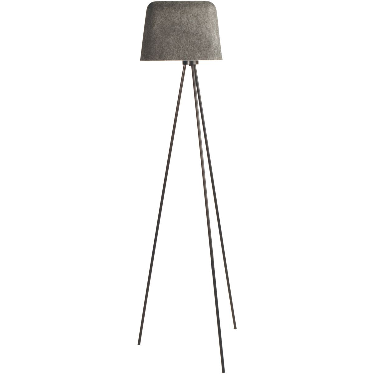 Tom Dixon Felt Shade Floor Lamp Basement Flooring Floor Lamp Diy Flooring
