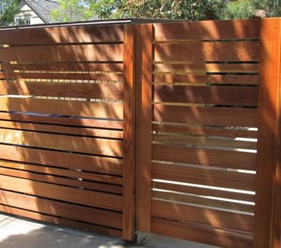 Side Effects May Vary Wood Gates Driveway Fence Design Modern