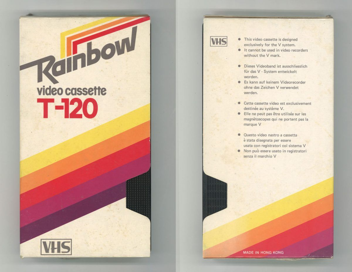 Last Known Vcr Maker Stops Production 40 Years After Vhs Format Launch Vintage Graphic Design Packaging Design Trends Retro Packaging