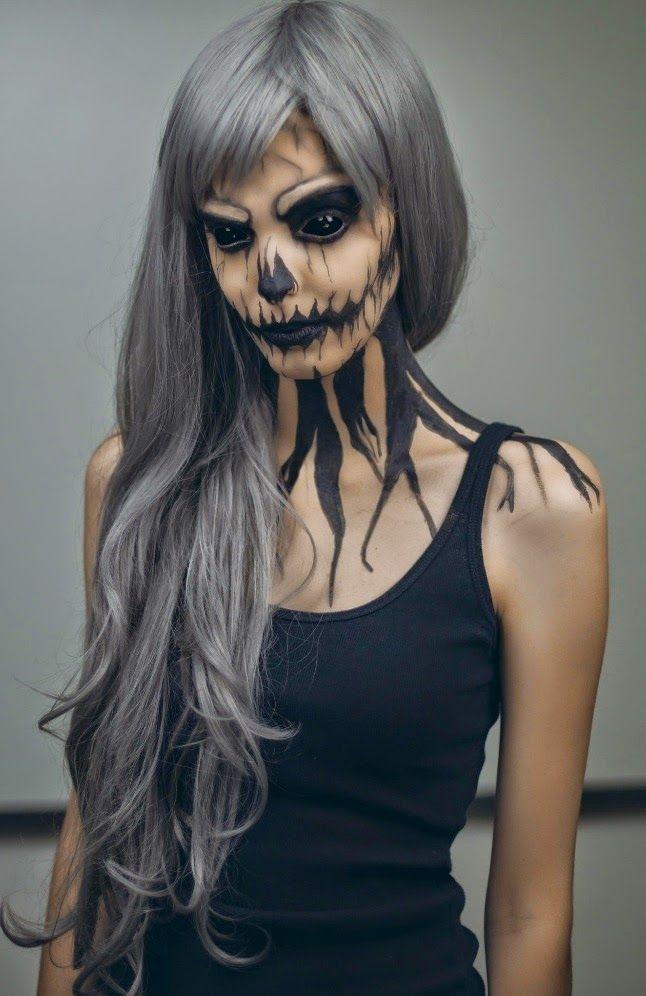 hemos recopilado los ms impresionantes e increbles maquillajes para halloween ideas de maquillajes que te servirn para este halloween quedars alucinad - Maquillaje Halloween