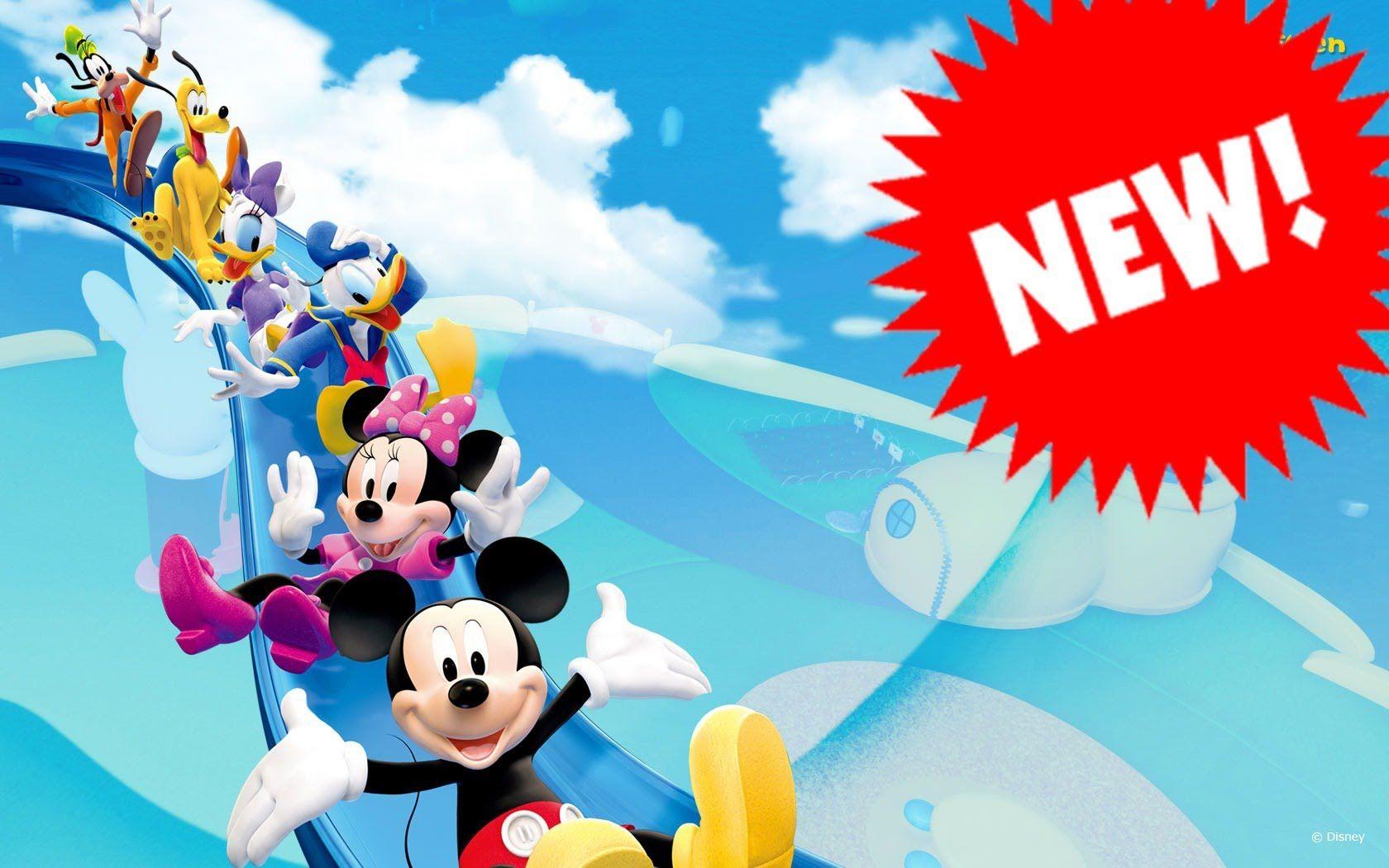 La casa de mickey mouse en espa ol latino capitulos completos nuevos epi pinterest casa - Youtube casa mickey mouse ...