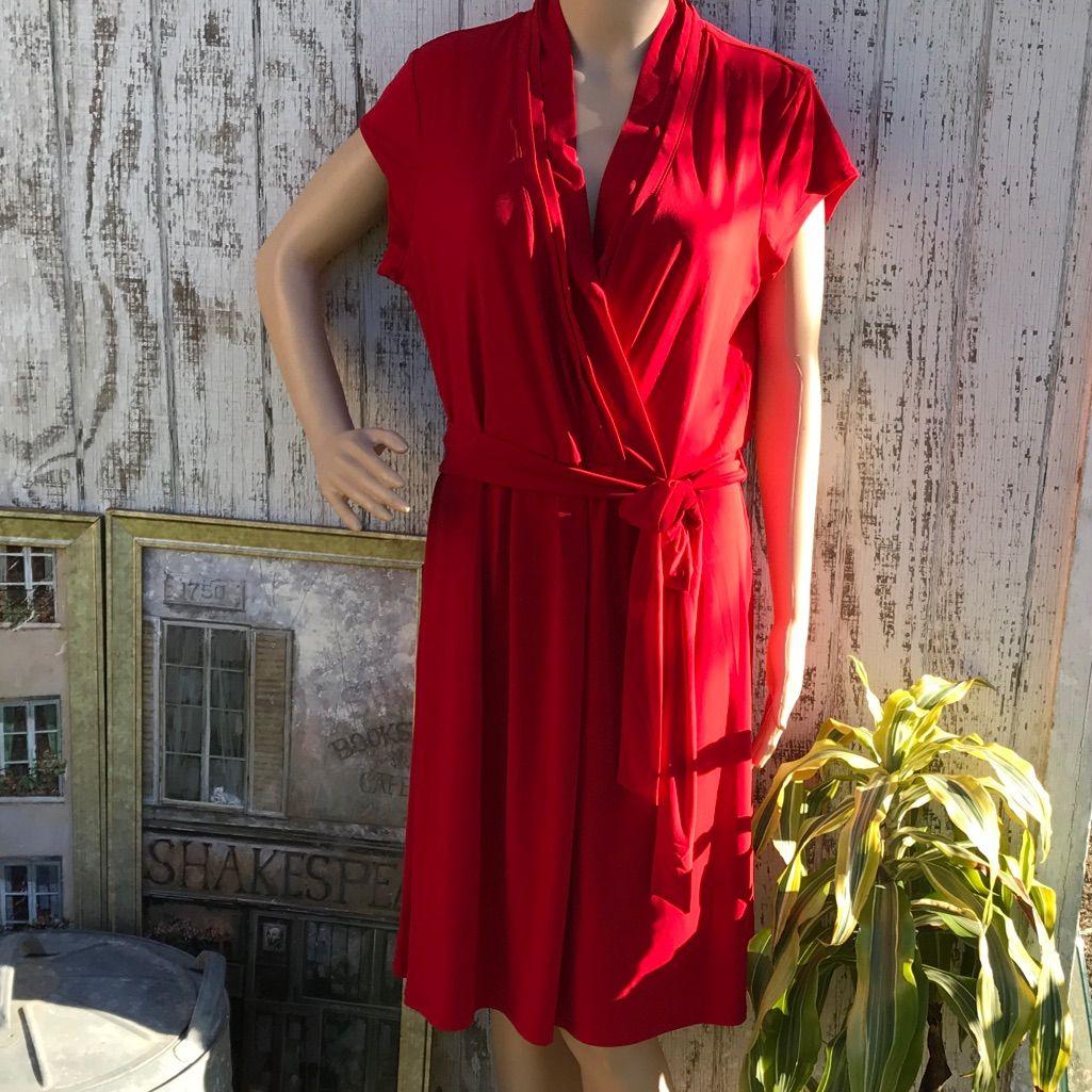 Liz Claiborne Nwt Red Dress