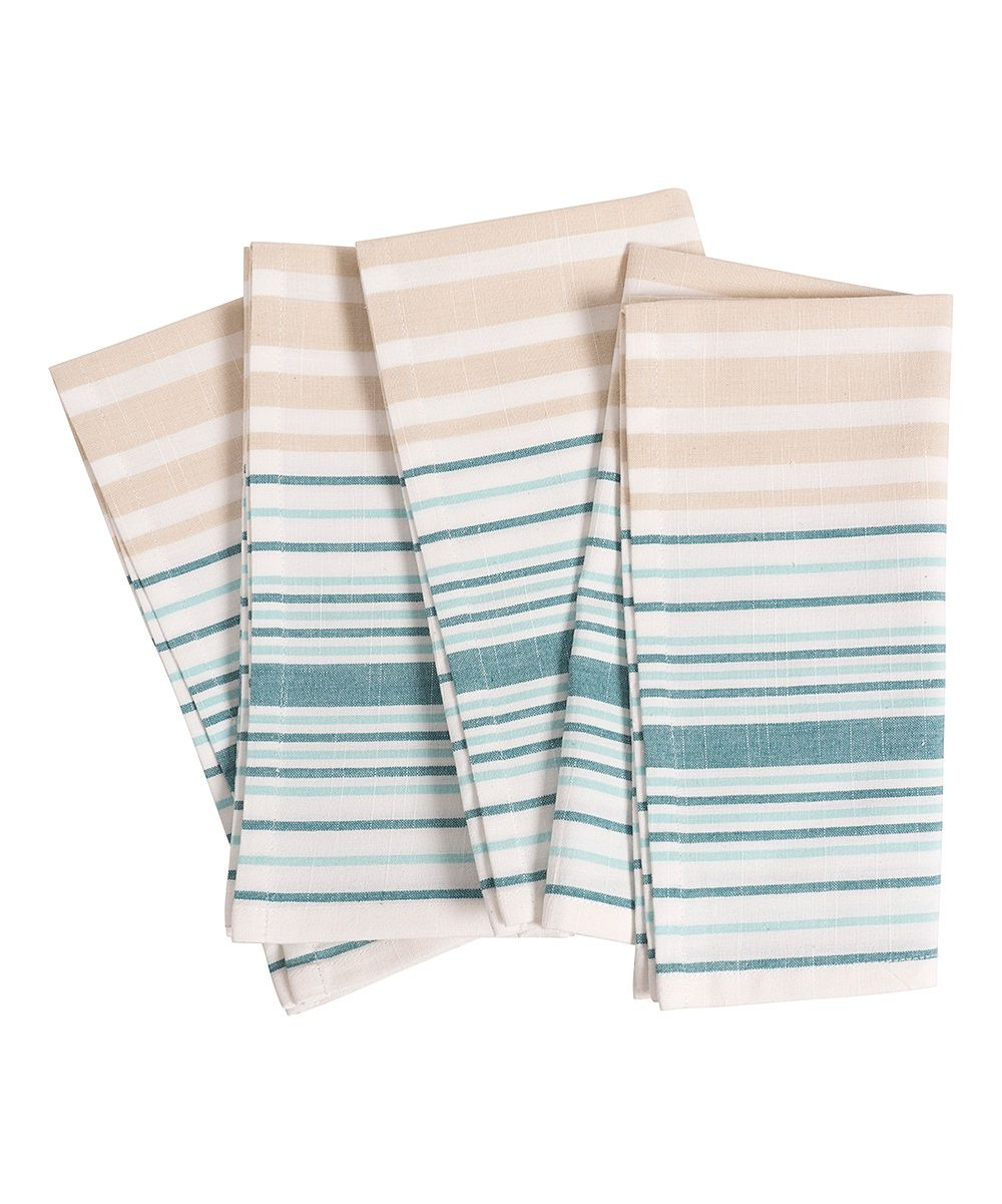 Teal Côte d'Azur Napkin - Set of Four