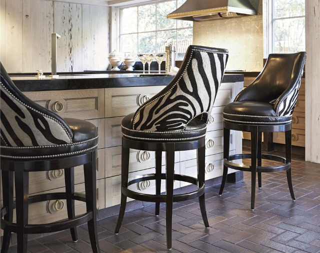 Leather Zebra Bar Stools Zebra Zebra And Oh Zebra