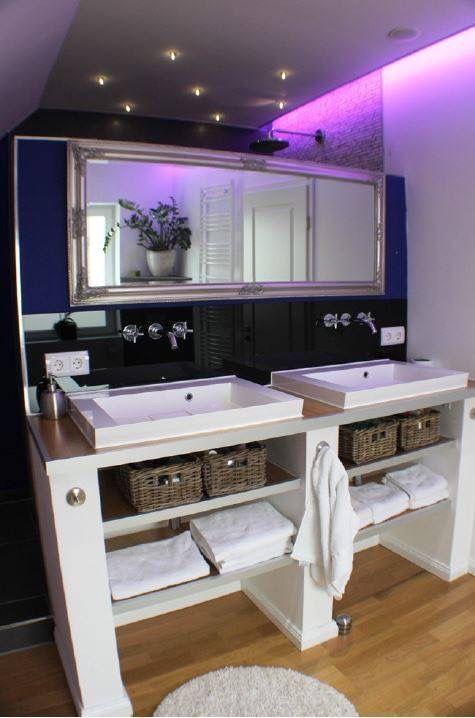 Nice bathroom idea, indirect lighting Ideen für Licht und Raum - sternenhimmel für badezimmer