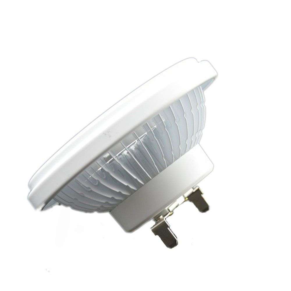Ar111 G53 Base Spot Light Bulb Led Dimmable 12w Cob Led Spotlight White With 12v 110v 220v Warm White Lamps Led Spot With Images White Lamp Led Spot Led Spotlight