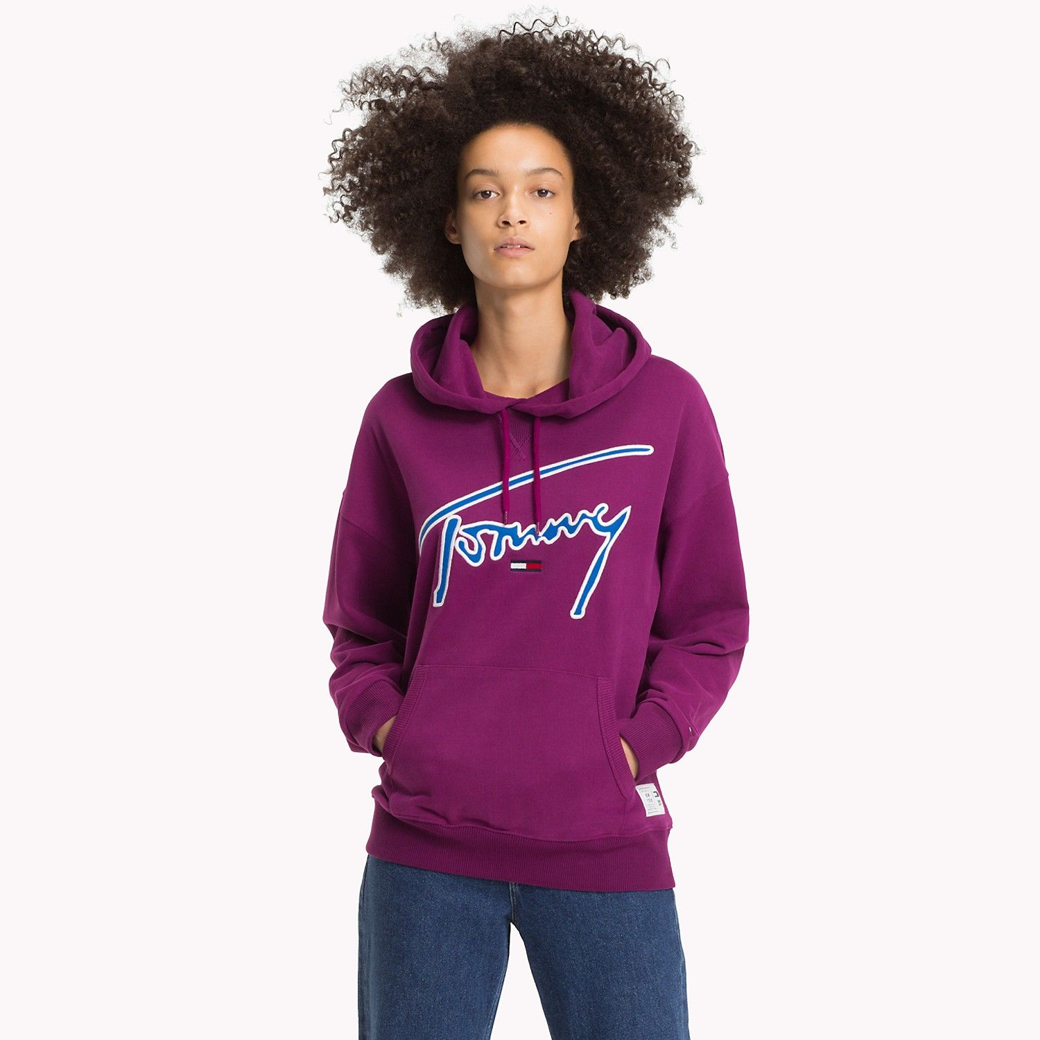 Tommy Jeans XPLORE Signature Hoodie Hoodies, Tommy jeans