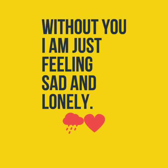 Lonely Love Quotes