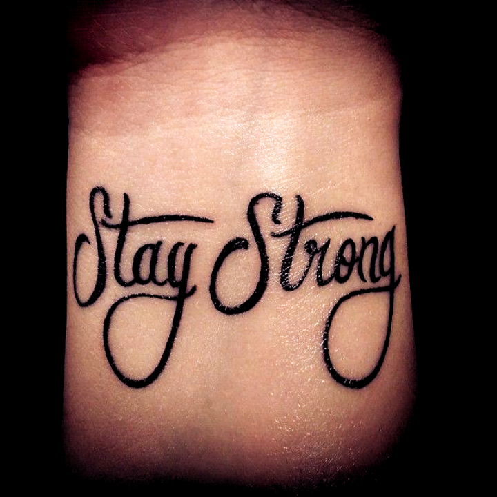 50 Tattoo Ideas For The Fitness Obsessed Tattoo Ideas Small Quotes In 2020 Strong Tattoos Stay Strong Tattoo Tattoos With Meaning