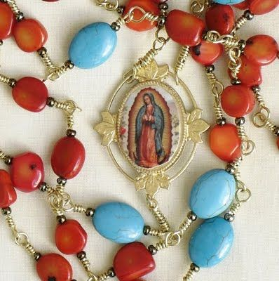 Our lady of Guadalupe Rosary. Love it!