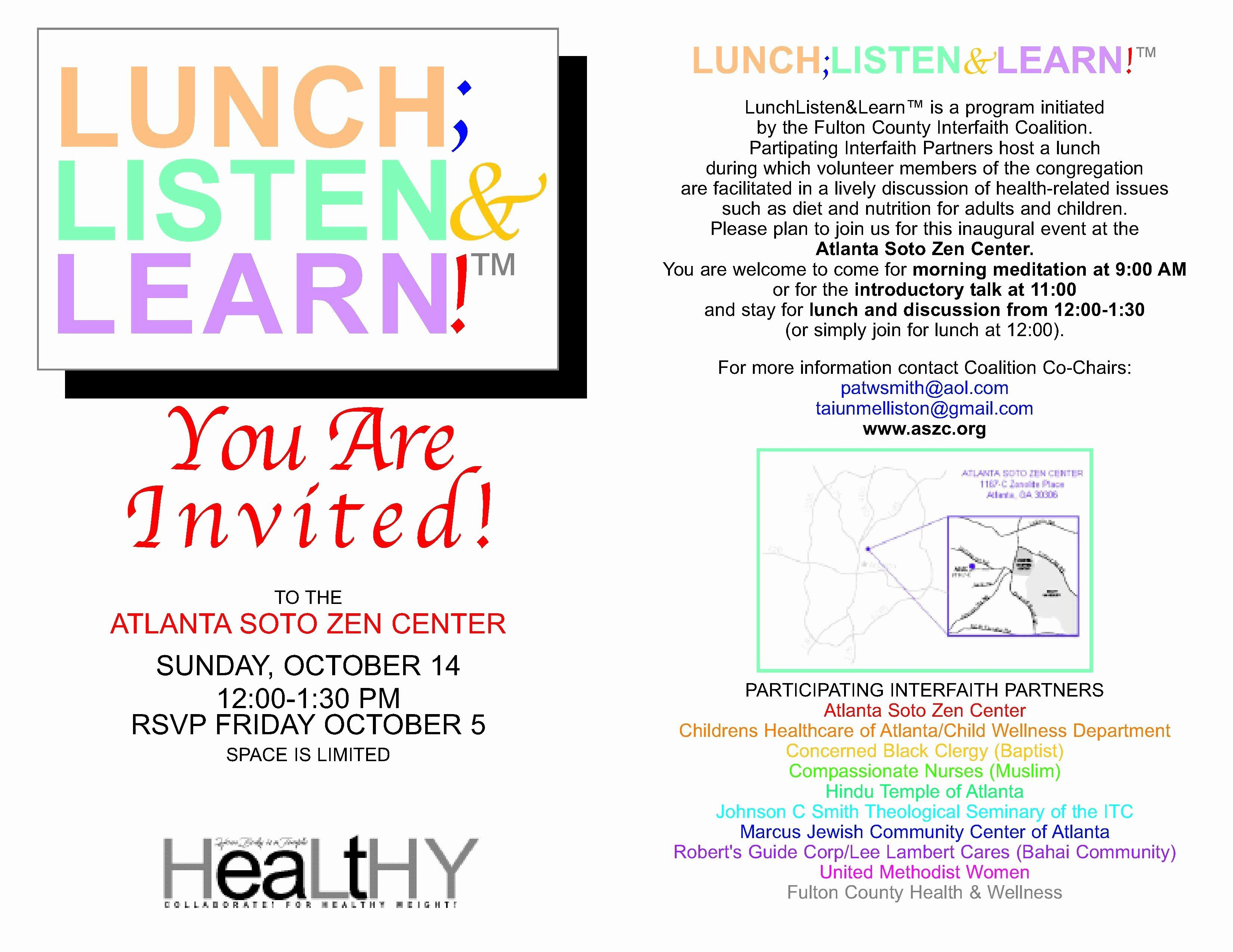 Lunch And Learn Invite Template Best Of Cosee Blogs Lunch Learn Marketing Employee Handbook Template