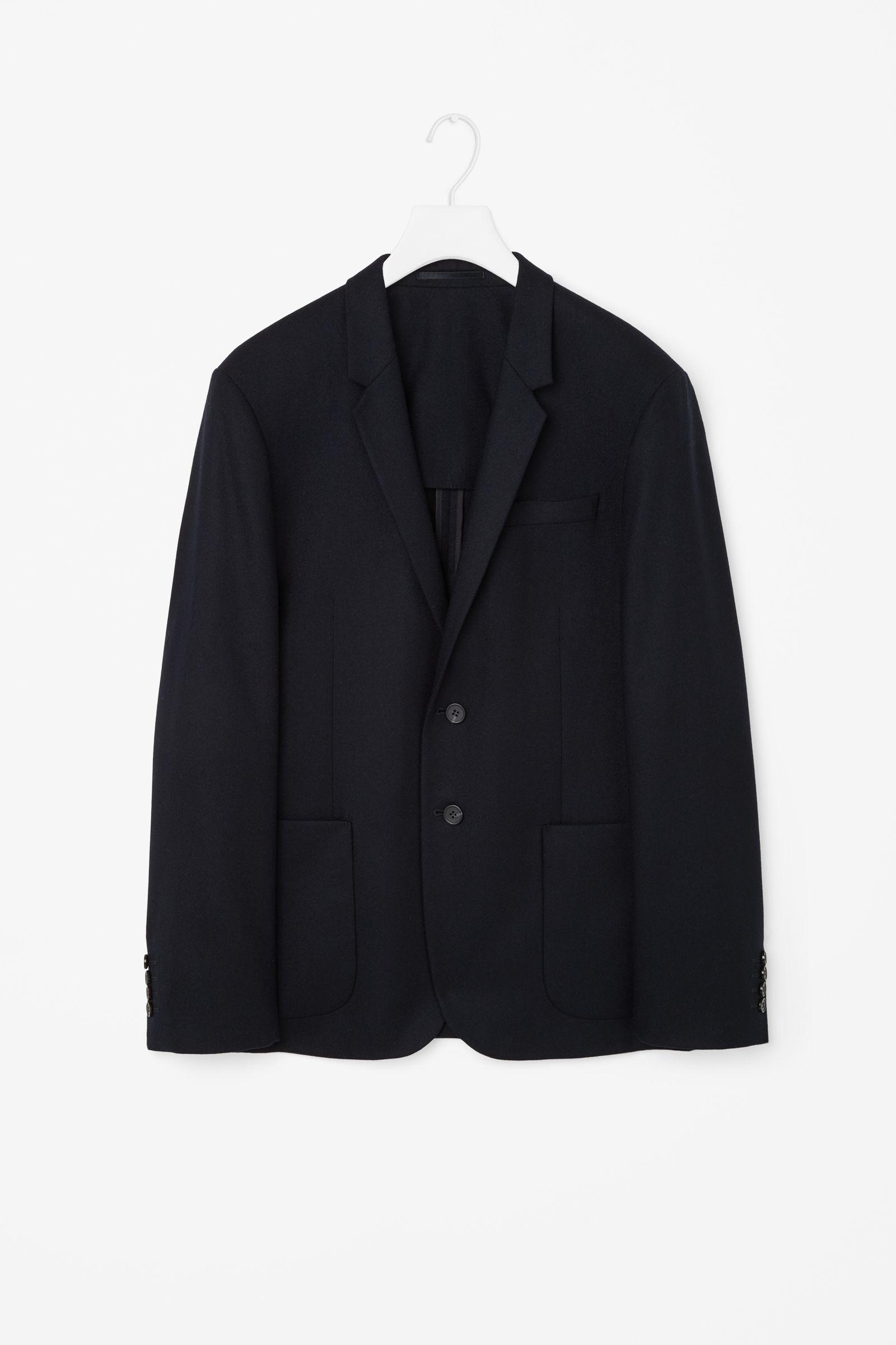 Wool cashmere flannel jacket  Wool flannel blazer  ropa y Accesorios  Pinterest  Flannels