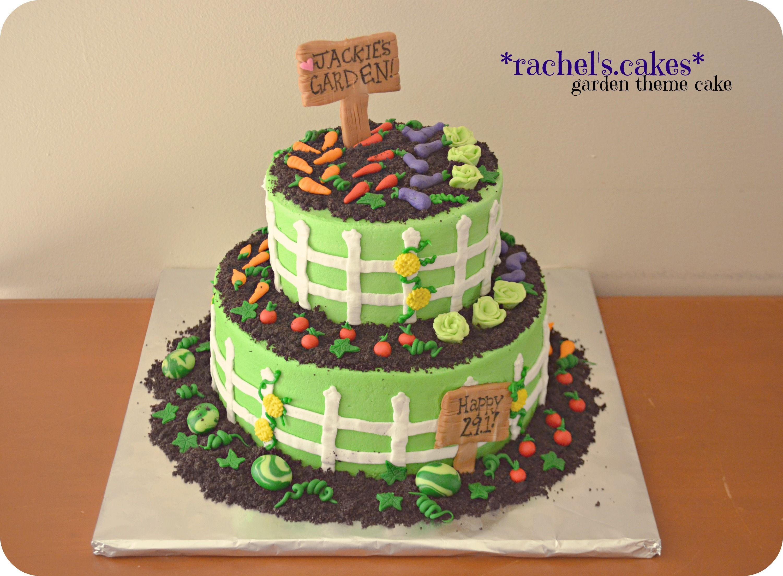 Amazing Vegetable Garden Cake Ideas Part - 9: Vegetable Garden Cake