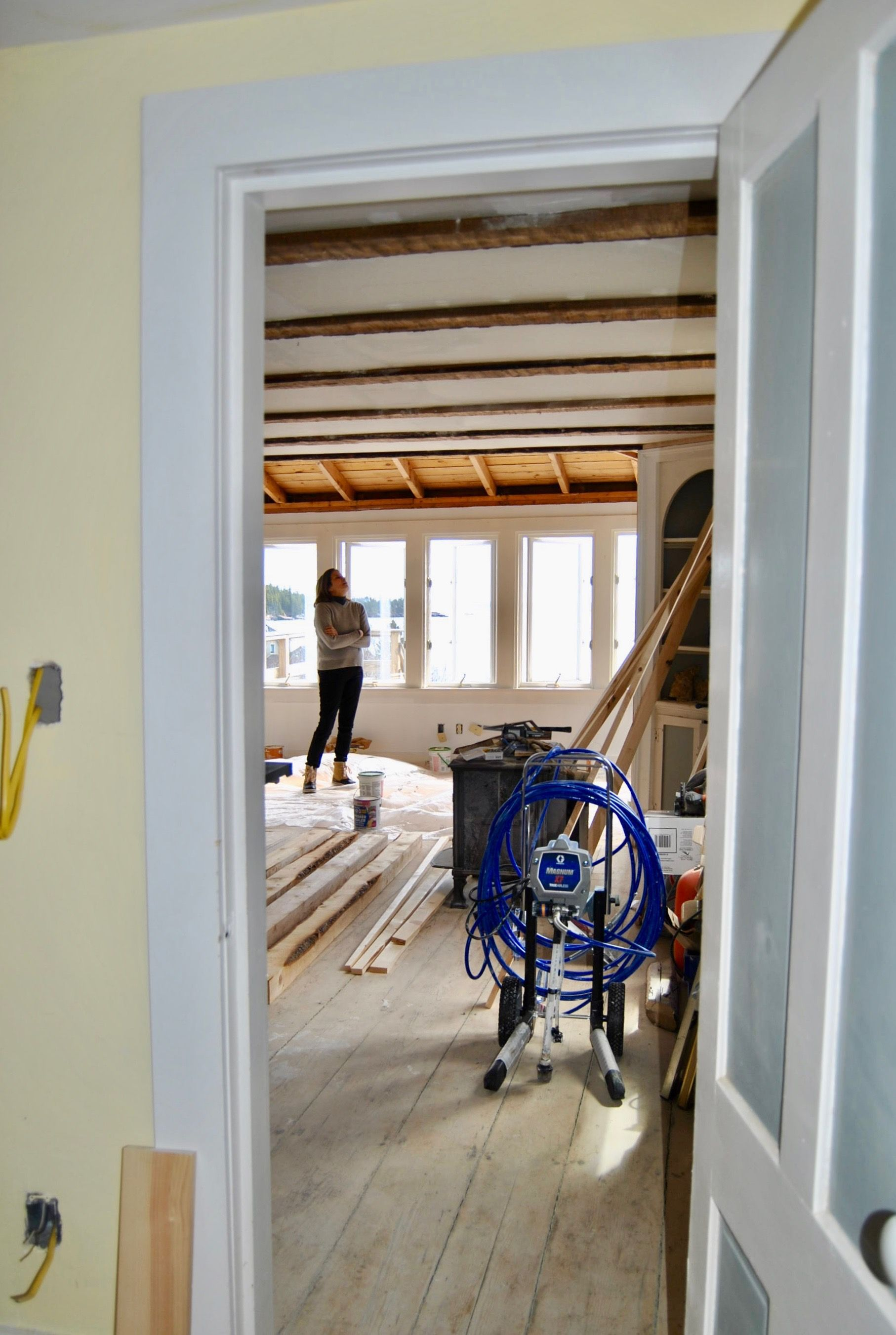 The Cottage on Jasper Beach is rapidly being made open and ...
