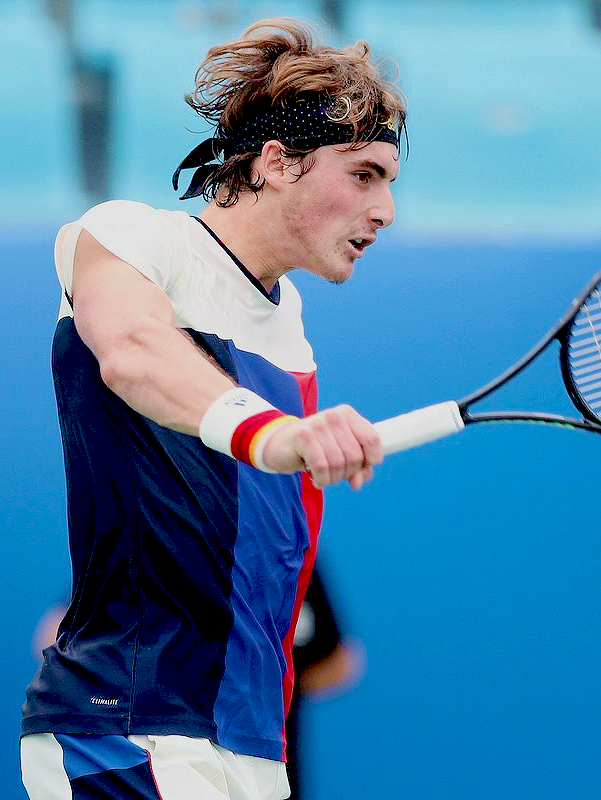 Stefanos Tsitsipas Advances To The Main Draw Of The Chengdu Open In Chengdu China On September 24 2017 Tennis Players Tennis Players