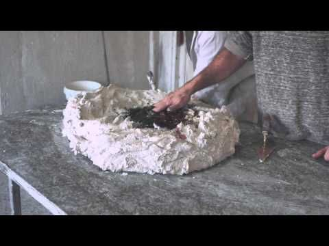 Mauro Patrini: Scagliola Carpigiana with English Subtitles - Stucco Marmo - Stuck Marmo - Moonstone - YouTube