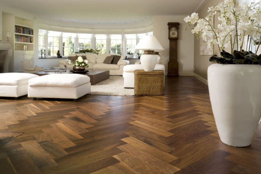 Engineered parquet flooring  oak HERRINGBONE WIDE LONG TALL BOARD