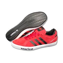 best sneakers bef7d 5bf8d ADIDAS Men Goodyear Driver Vulc in RedBlackWhite. Style G44886. These  are a very popular casual shoe that are so comfortable! Dont miss out on  the deal ...