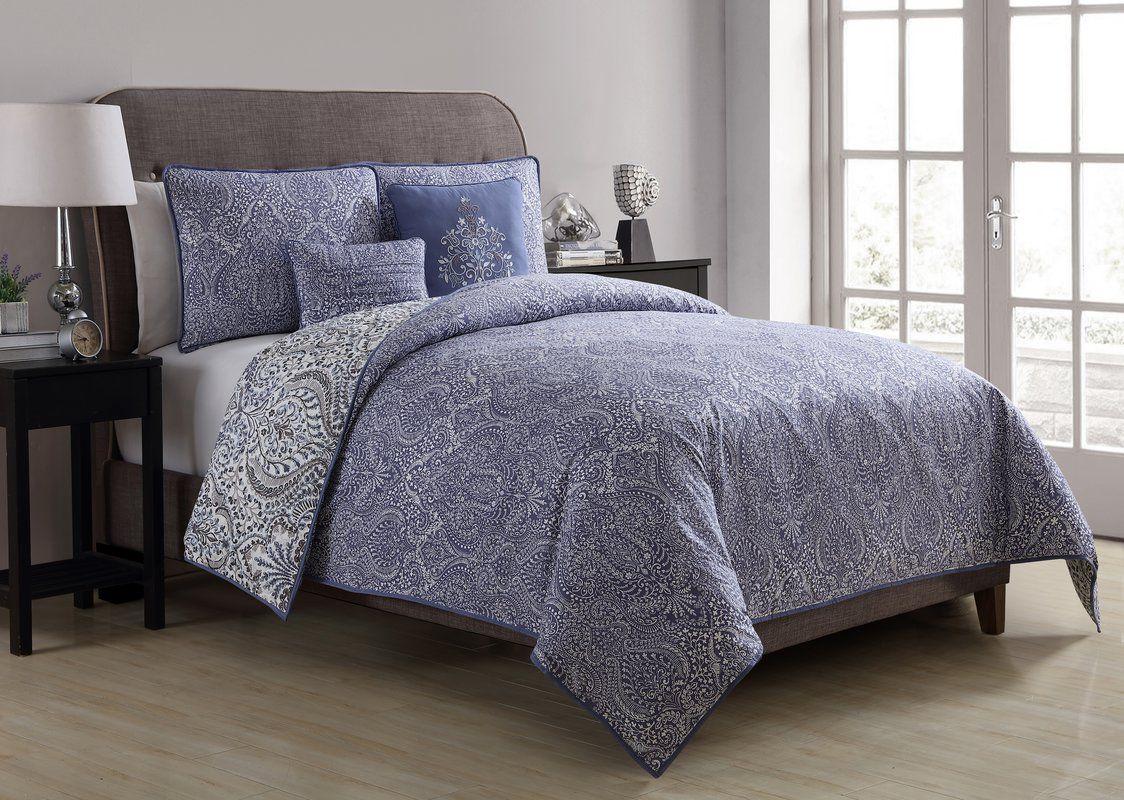Middleburg Reversible Duvet Cover Set Comforter sets