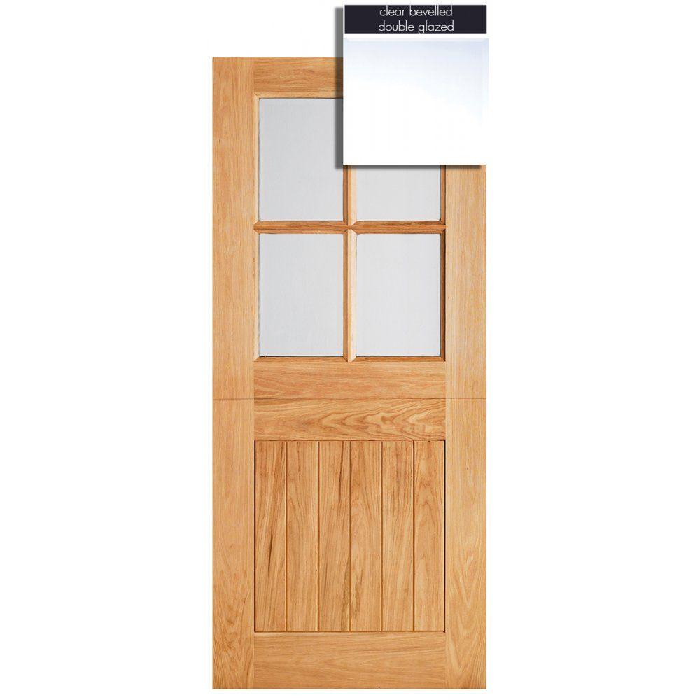 LPD Doors Adoorable Oak Cottage Stable 4 Light Double Glazed Exterior/External Door  sc 1 st  Pinterest & LPD Doors Adoorable Oak Cottage Stable 4 Light Double Glazed ...