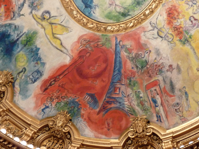 Paris Opera Paris France Peinture De Chagall Overdose De Cutness Paris Opera Ve Architecture