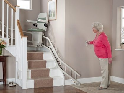 Admirable New Stannah Sarum 260 Curved Stairlifts Can Be Installed Creativecarmelina Interior Chair Design Creativecarmelinacom