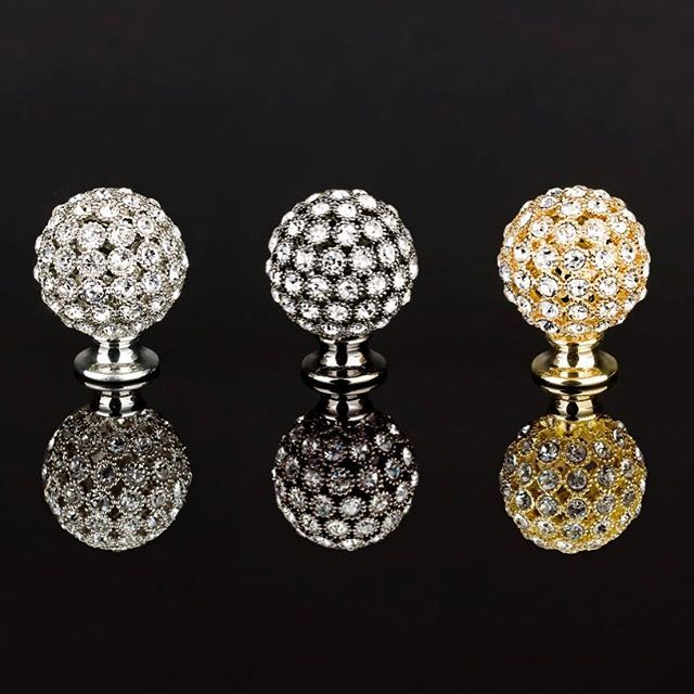 Swarovski crystal cabinet knobs from Topex Design. #topex ...