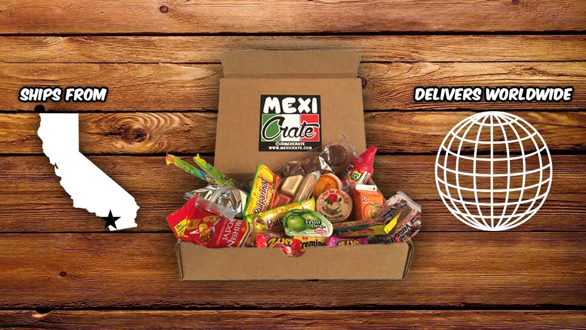 Mexicrate Mexican Candy Snacks And Pan Dulce Subscription Box