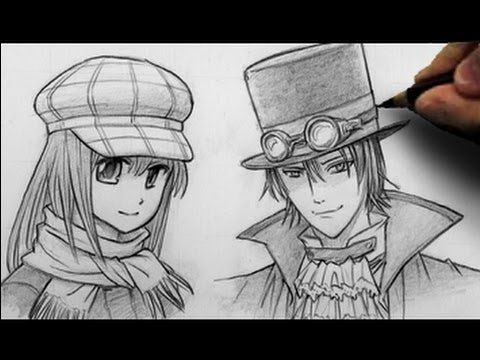 How to Draw Hats, 2 Different Ways