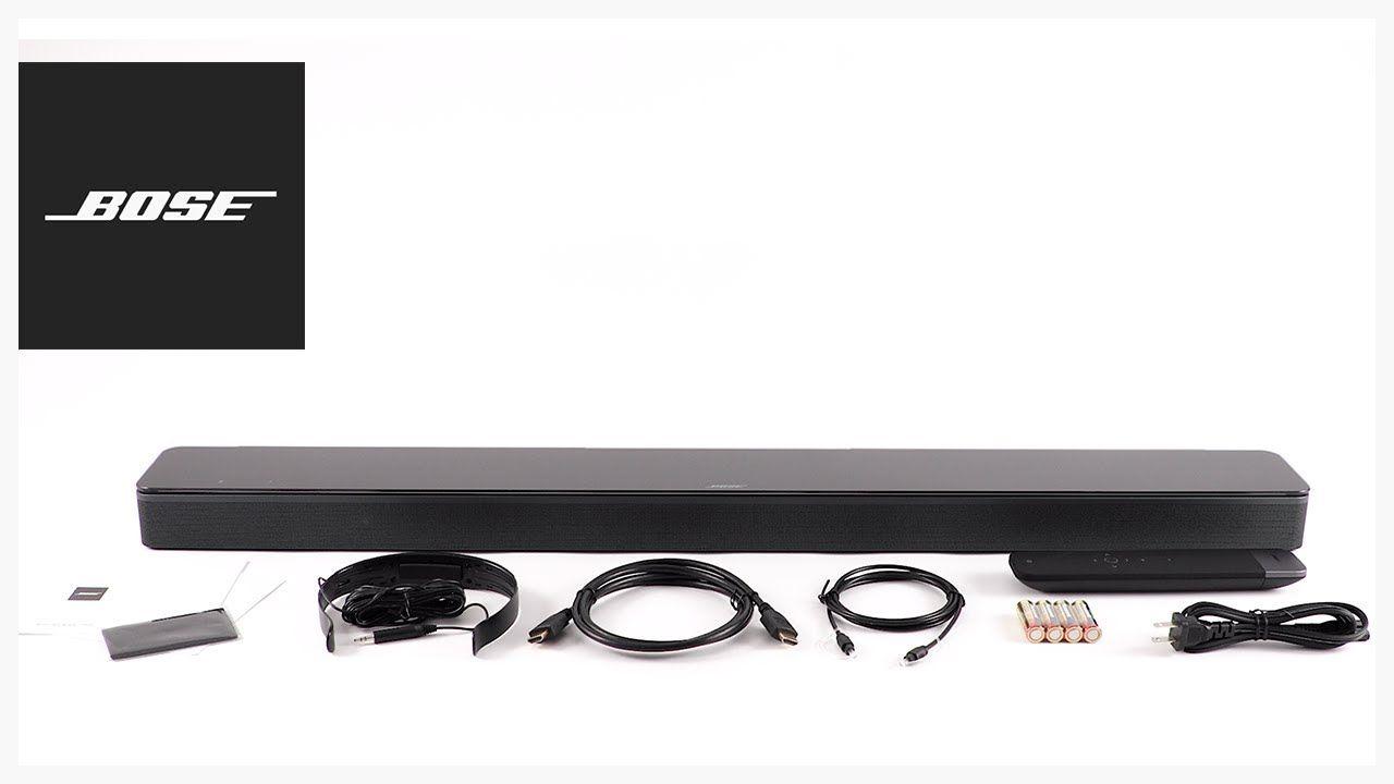 Bose Soundbar 700 Unboxing Setup Sound Bar Setup Unboxing