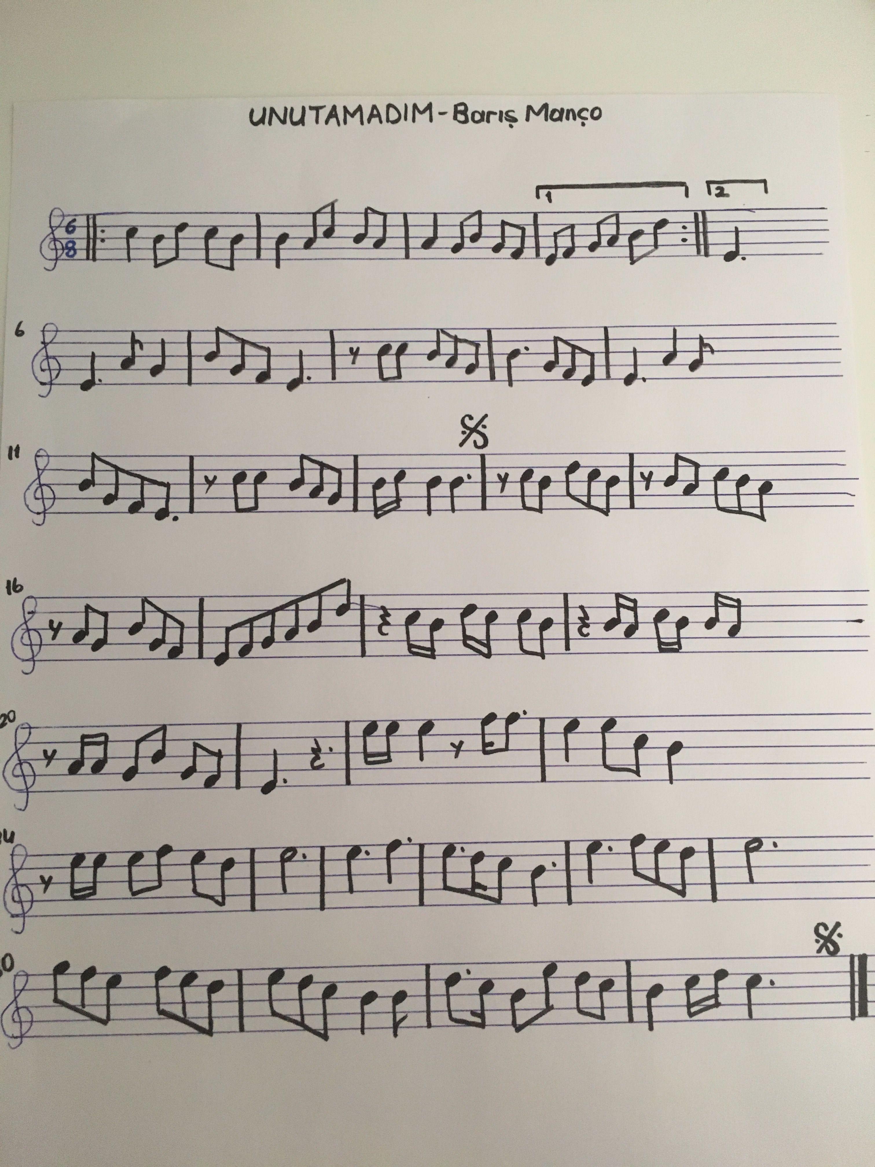 Seyda Adli Kullanicinin Violin Sheet Panosundaki Pin 2020 Notalara Dokulmus Muzik Flut Muzik