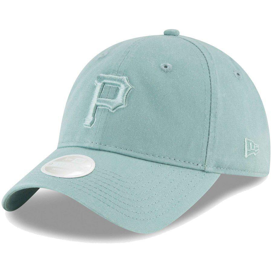 online retailer 55b88 a0640 Women s Pittsburgh Pirates New Era Light Blue Core Classic Twill 9TWENTY  Adjustable Hat,  21.99