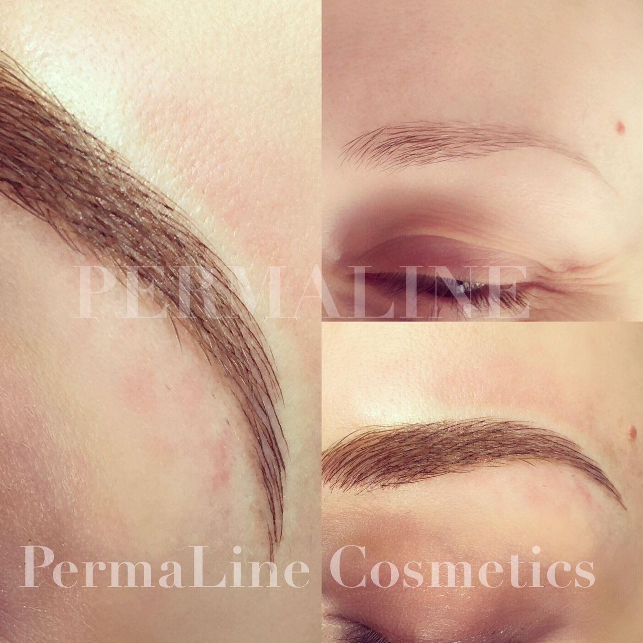 Eyebrows Microblading Micro Stroke Eyebrows Permanent Makeup