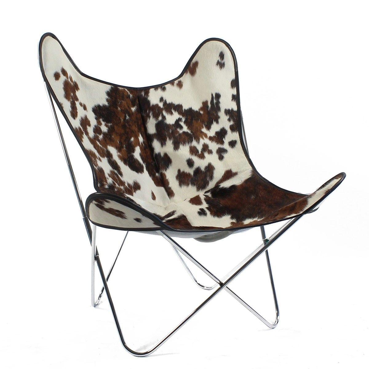 fauteuil butterfly peau de vache aa new design mobilier pinterest peau de vache vache et. Black Bedroom Furniture Sets. Home Design Ideas