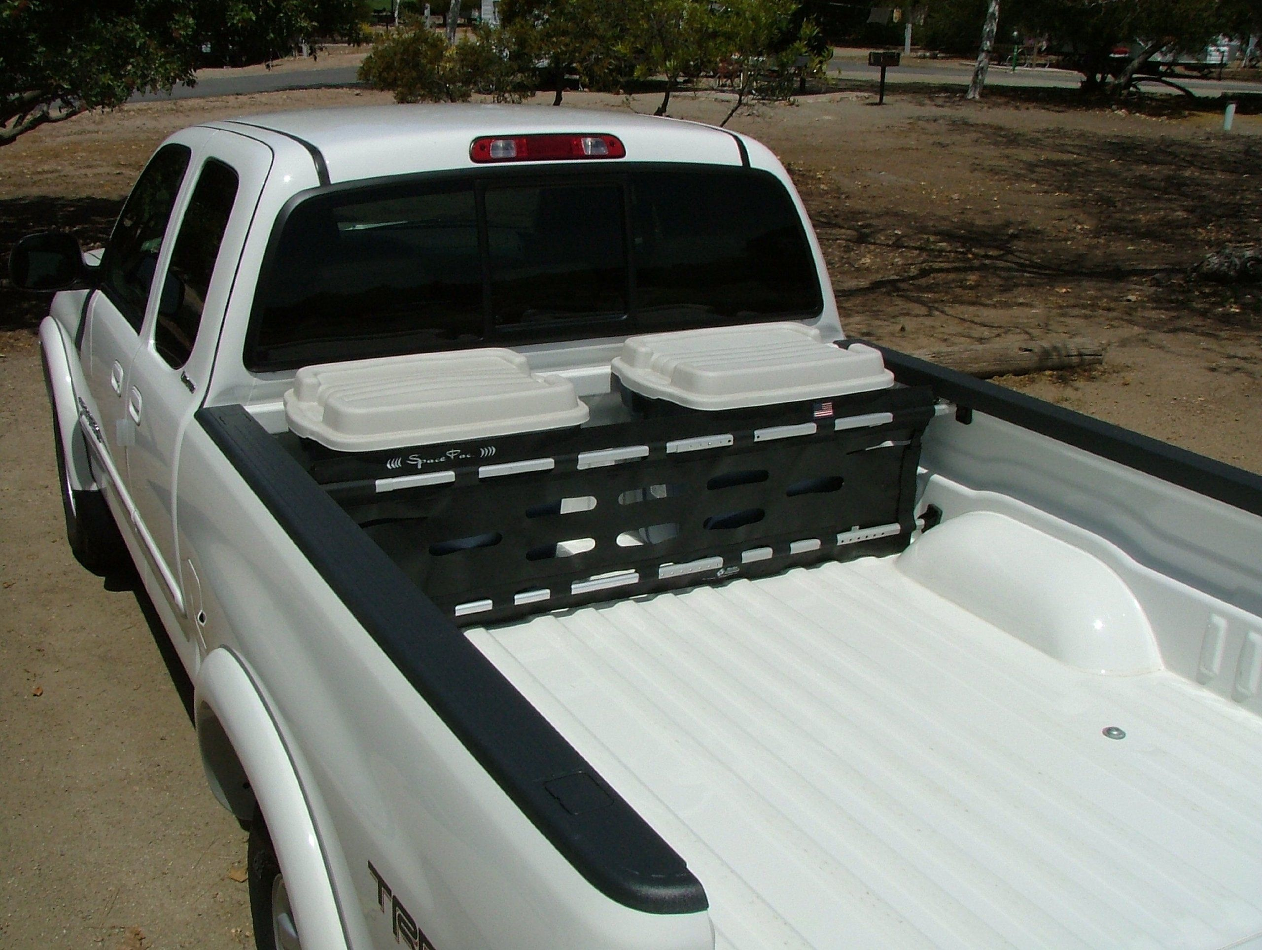 Spacepac truck cargo gate bed divider for 59 to bed width