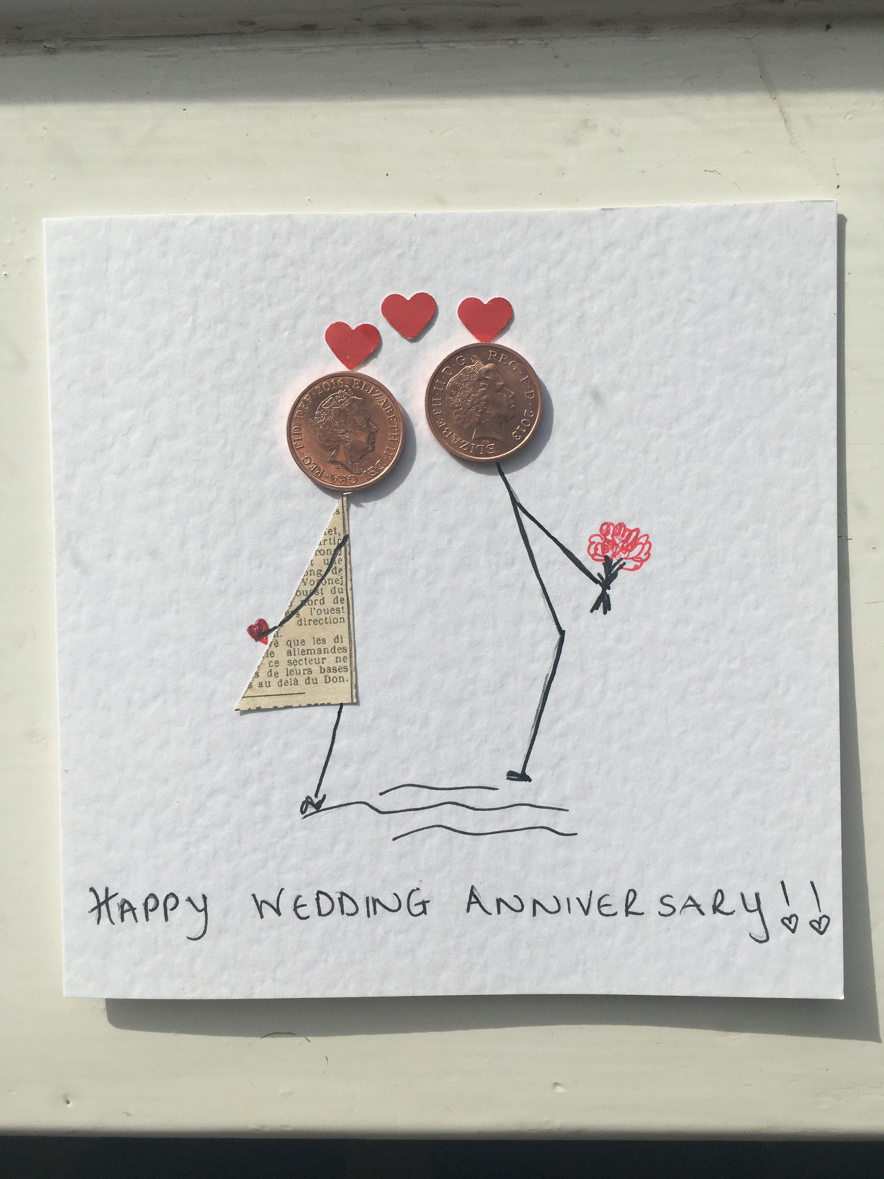 Открытка своими руками родителям на 13 годовщину свадьбы
