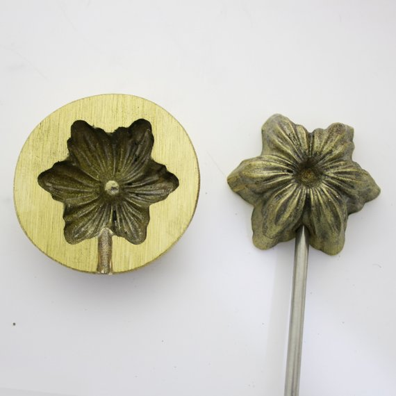 5cm x 3,5cm Millinery Flower making tool Flower making iron  Mould