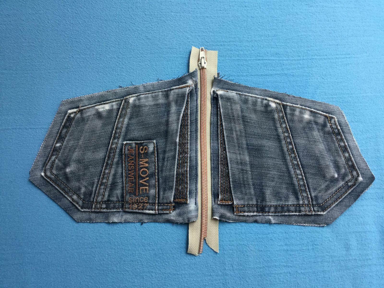Photo of Kostenlose Nähanleitung für Jeans-Upcycling-Beutel