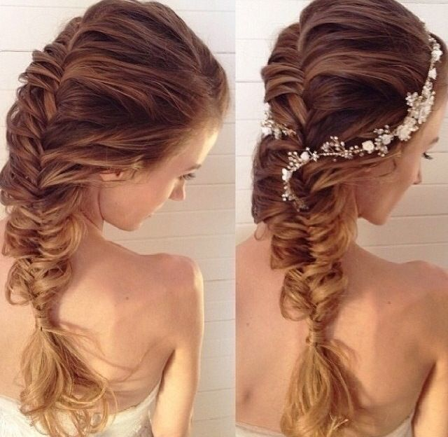 Fishtail Braid Wedding Hairstyles: Hair Styles 2014, Hair