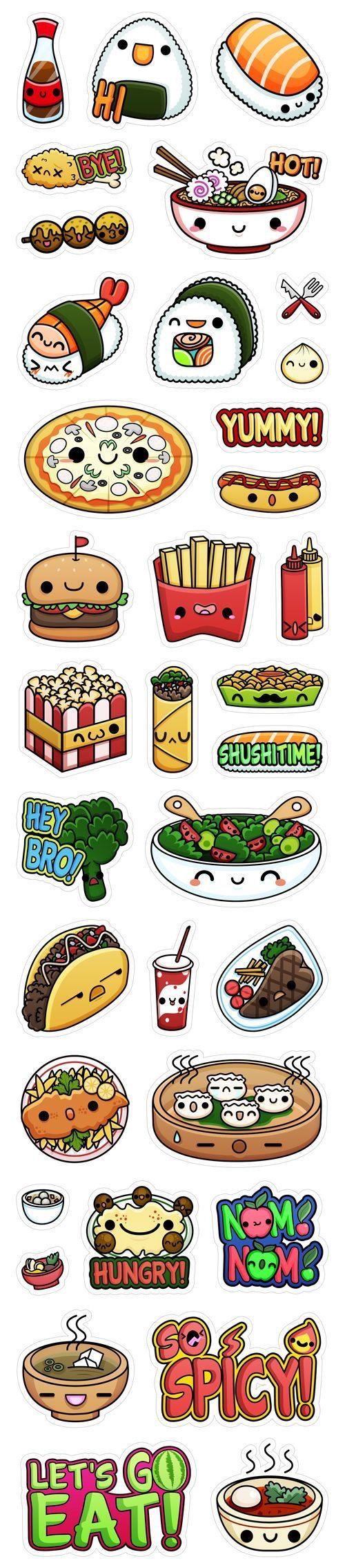 I Love Sushi Kawai Obrazky Pinterest