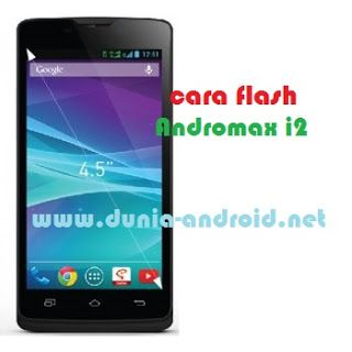 Cara Flash Smartfren Andromax i2
