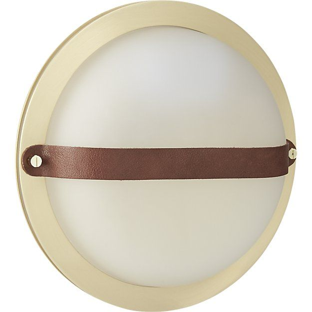 Shop Hemisphere Wall Sconce. Classic Ship Portholes Shine Anew In This  Modern Maritime Design By