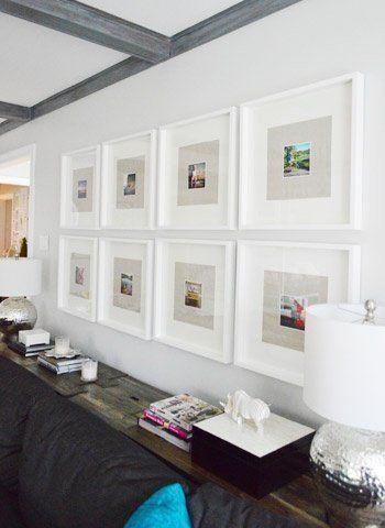 Gallery Wall Inspiration 10 Examples Of Frames Hung On A Grid